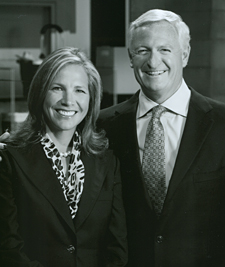Dee and Jimmy Haslam