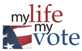 My Life My Vote logo