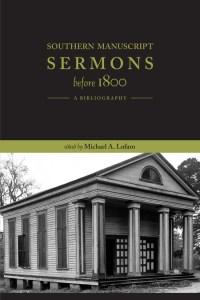 Southern Sermons Before 1800