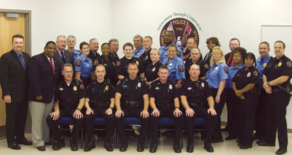Group shot of UTPD officers
