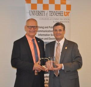 Wendell Potter receives Accomplished Alumni Award