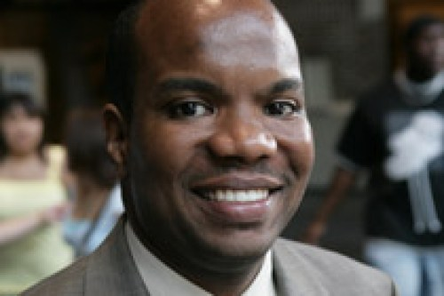 Rickey Hall, vice chancellor for diversity