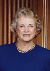 Retired U.S. Supreme Court Justice Sandra Day O'Connor (click image for high-res version)