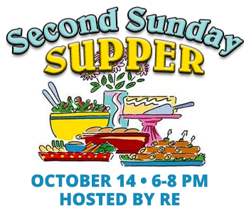 Second Sunday Supper October 14, 2018