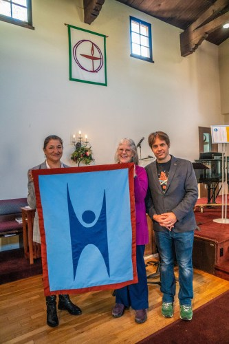 Humanist Banner Welcomed