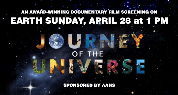 Journey of the Universe film screening