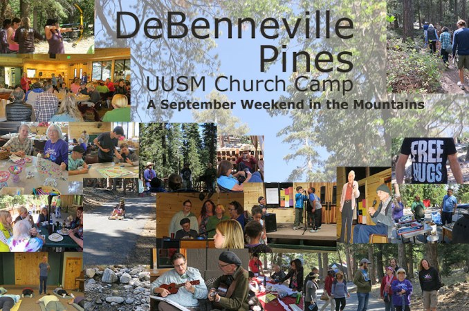 Camp de Benneville Pines weekend