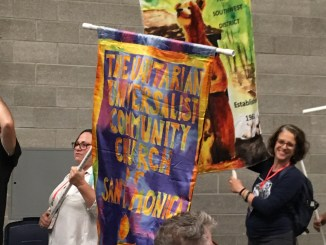 Opening Ceremony Banner Parade
