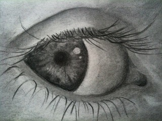 's drawing of an eye, IMG_1480