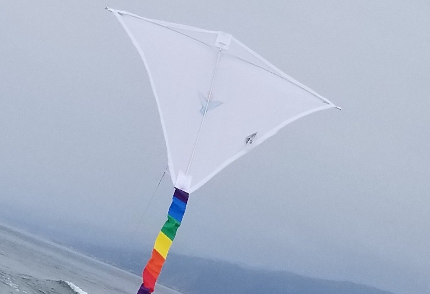 chalice kite, cropped