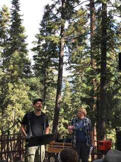 Worshiping in the Pines