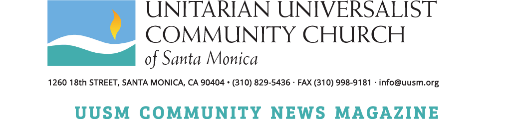 UUSM Community News Magazine