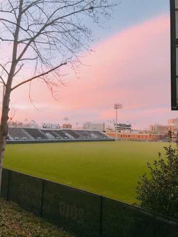 Lacrosse field, captured by Social 'Dore @charlotteggolden