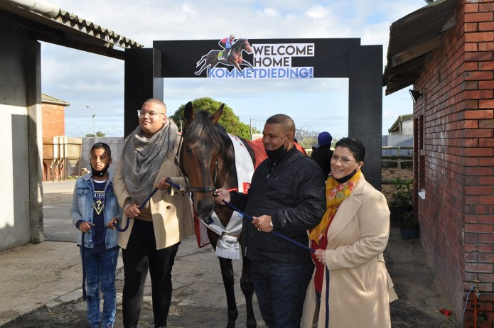The first Cape Flats racehorse owner to win the Durban July