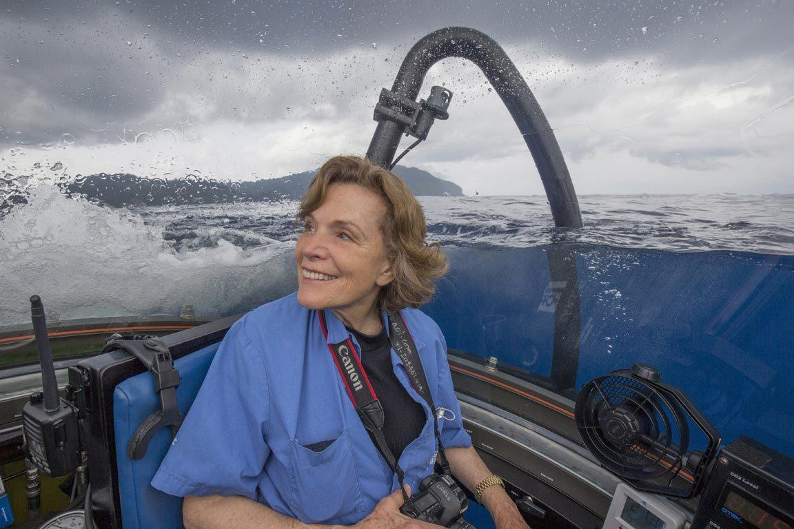 Oceanographer, author, lecturer in more than 90 countries. Sylvia Earle Thomas Jefferson Foundation Medalist In Citizen Leadership Uva Today