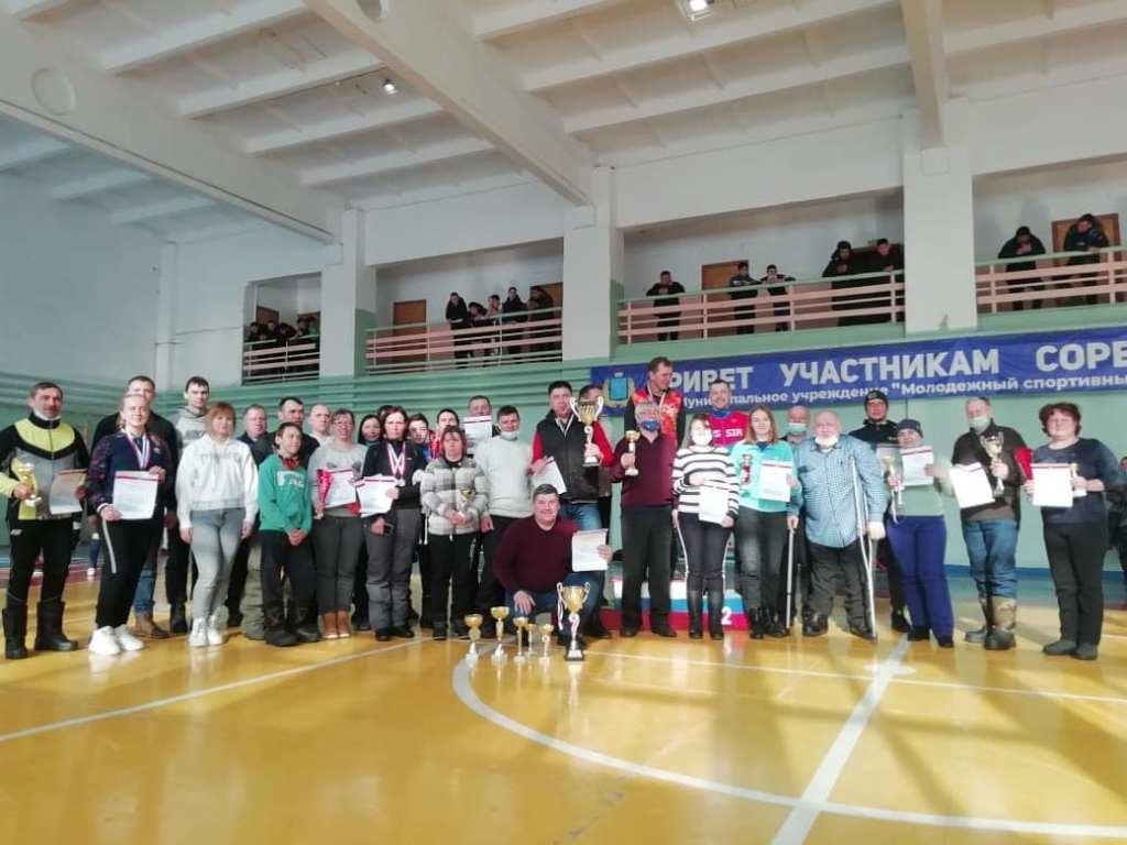 марксовский район на областных сельских спортивных играх