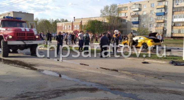 дтп в центре маркса - происшествие город маркс