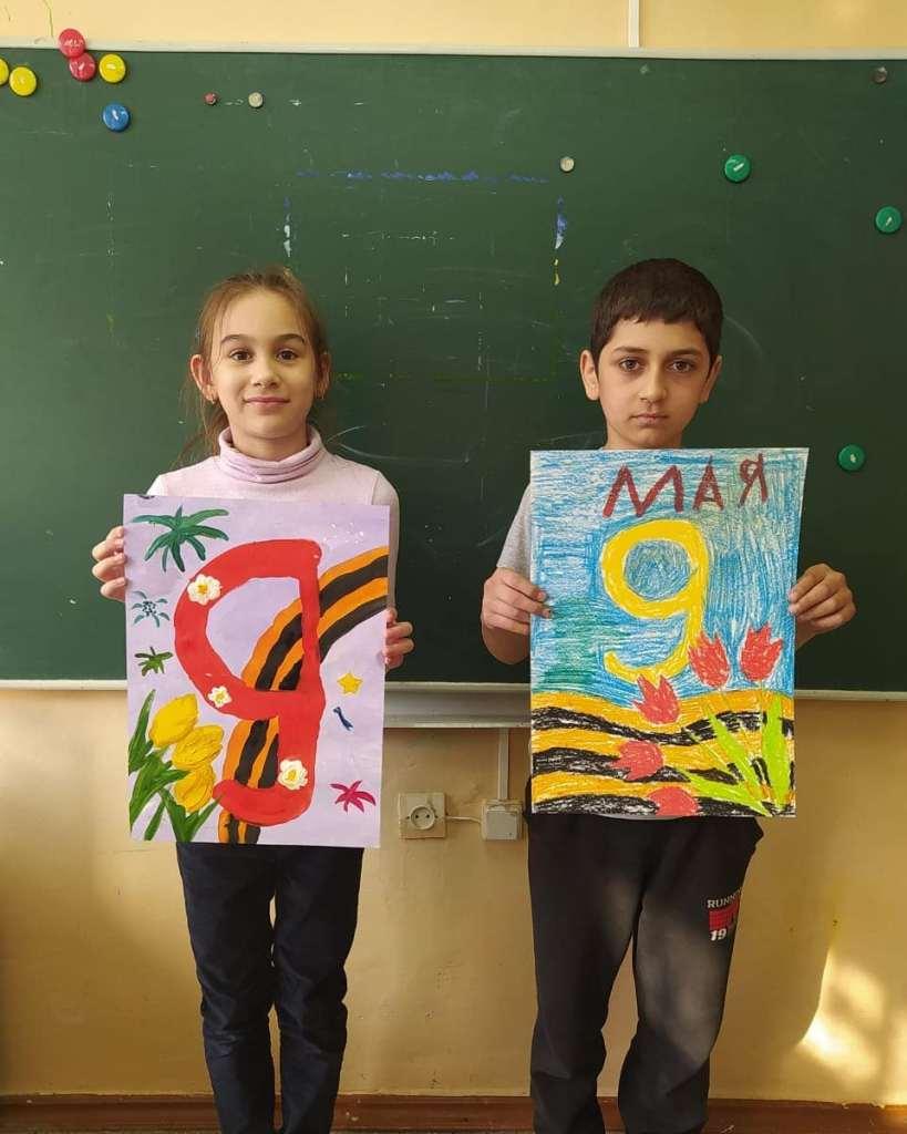 Юные художники из Марксе
