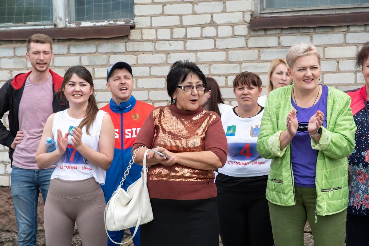 спартакиада муниципальных образований - новости марксовский район