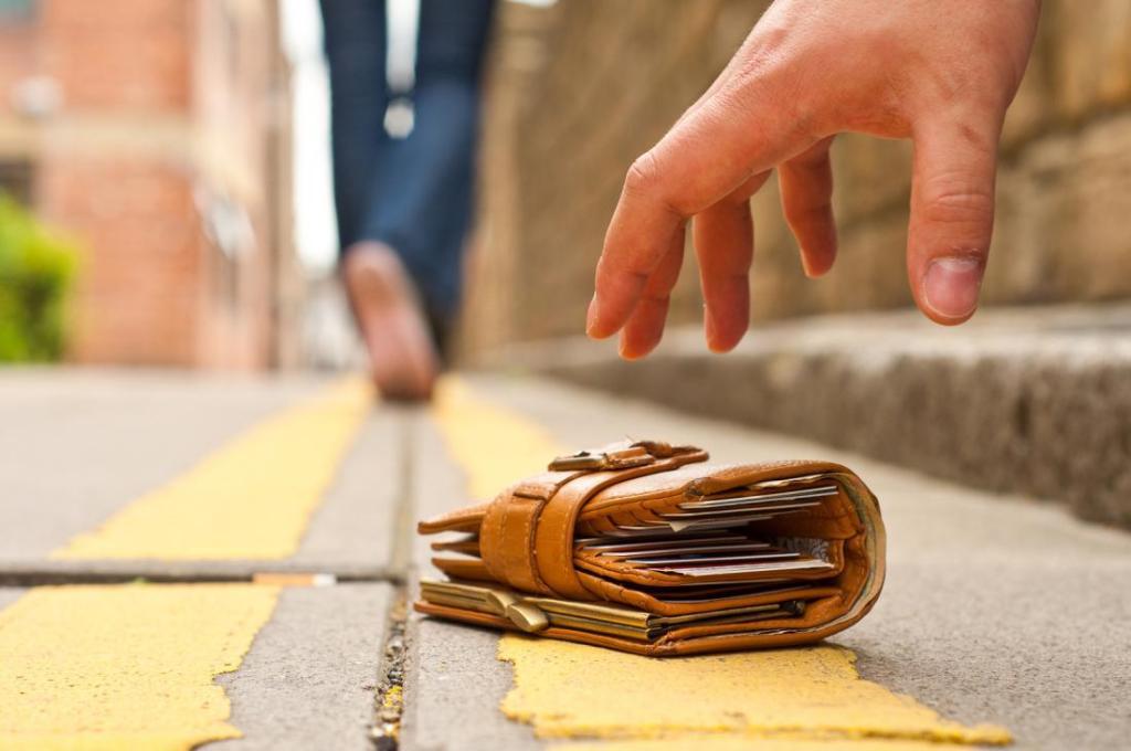 житель маркса нашел кошелек