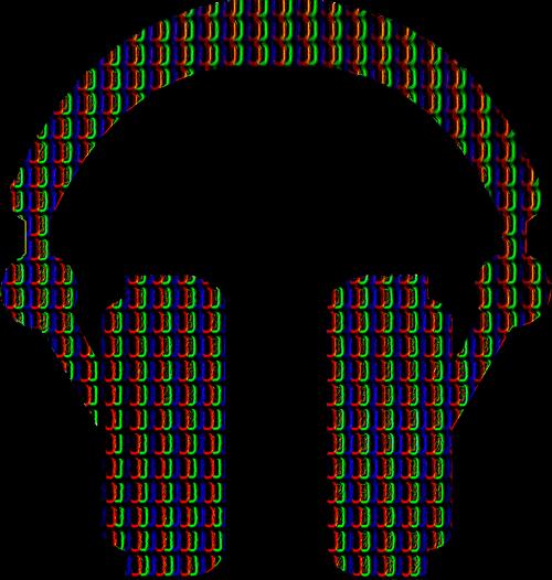 voxel records pixel headphones