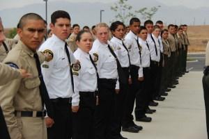 Formal Inspection at Graduation