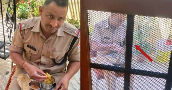 Uttarakahnd Police shares emotional photo of on duty police officer with a message