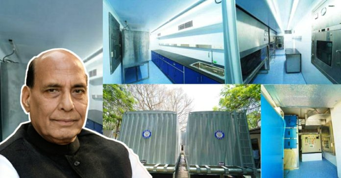 Rajnath Singh inaugurated mobile lab developed by DRDO