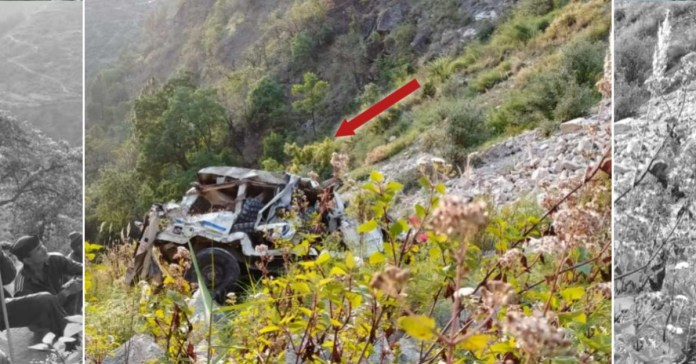 Uttarakhand Road Accident: 2 dead after car fell into gorge in Chamoli