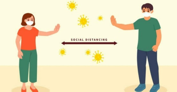 6 feet of social distancing is not enough