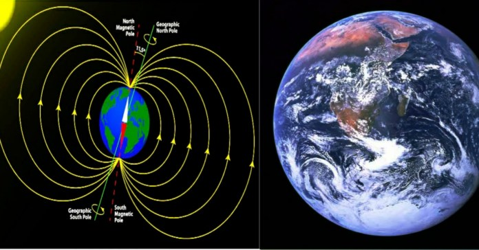 The Earth's magnetic field is getting weaker; Satellite and space vehicles are under threat