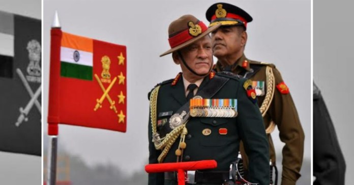 CDS General Bipin Rawat will give 50k every month from his salary to PM CARES fund