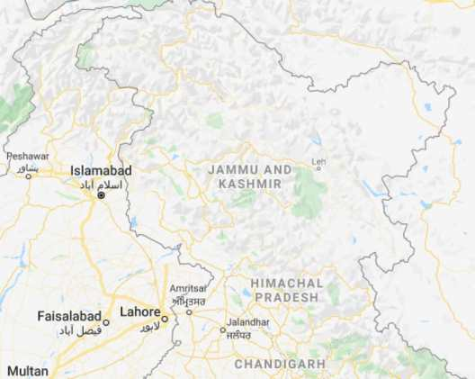 Fact Check: Did Google merge PoK in India, LoC missing from the map?