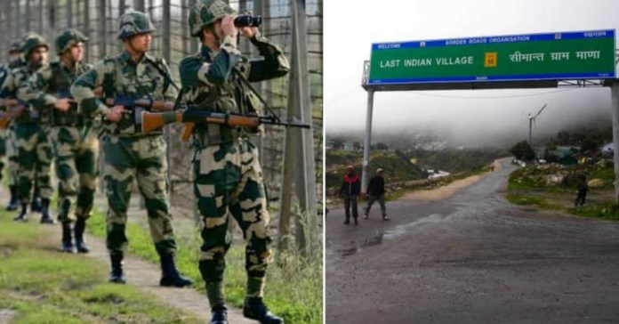 Indian Army increase vigilance and security on border of Chamoli District in Uttarakhand due to ladakh tension