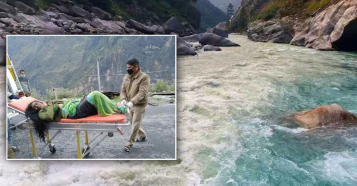 Uttarakhand : Brave Daughter saved life of her mother