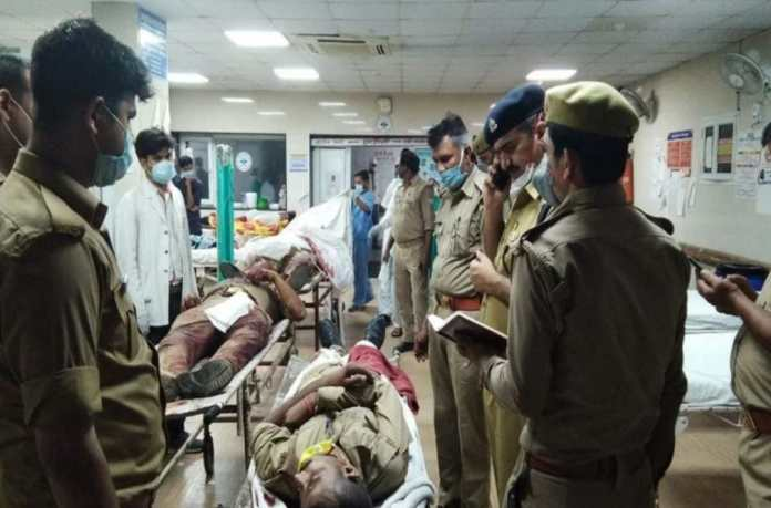 Eight UP Cops Including CO Killed By Gangster In Kanpur, Six Others Injured