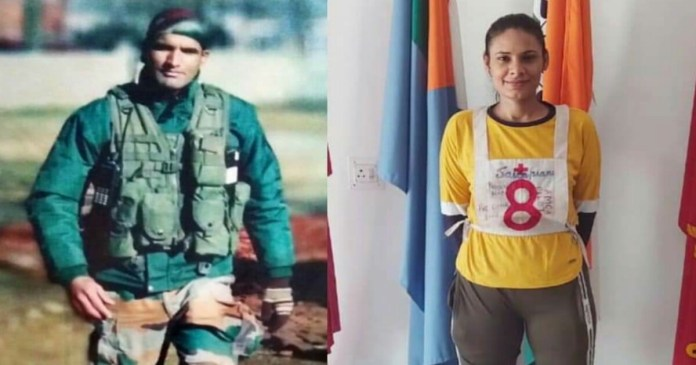 indian army martyred soldier's wife to train in OTA