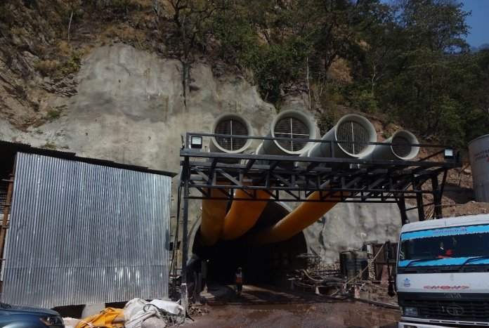 Rishikesh-Karnaprayag Rail Line: Excavation For First Tunnel Of Project Completed