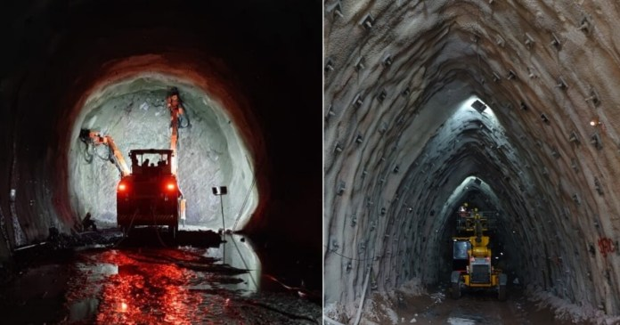 Rishikesh-Karnaprayag Railway Line: Excavation For First Tunnel Of Project Completed