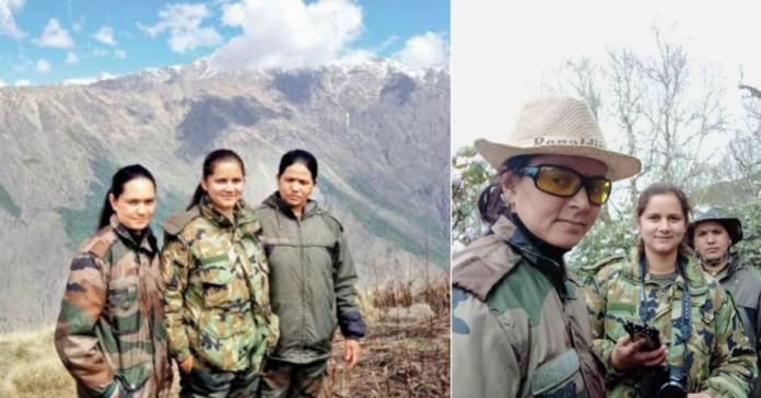 Nanda devi: First time ,Female guards Deployed at the forests of 14,500feet