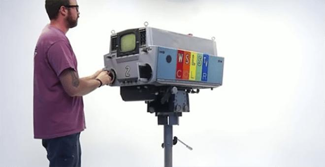 1960 wsls television camera