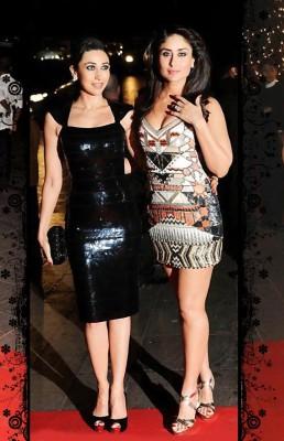 Kareena Kapoor with Karishma