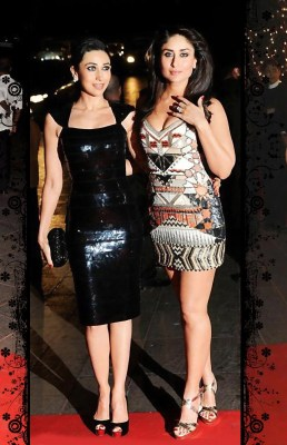 Kareena Kapoor with Karishma
