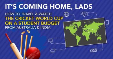 Travel to the UK and watch the ICC Cricket World Cup 2019 on a Student Budget