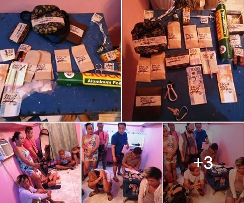 Arrested suspects found positive of using illegal drugs