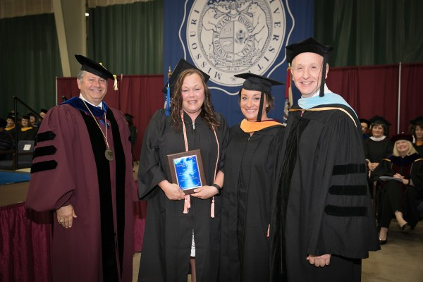 3 receive Outstanding Student Awards at commencement ...