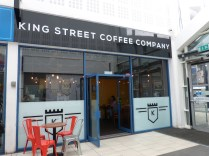 King Street Coffee Outside