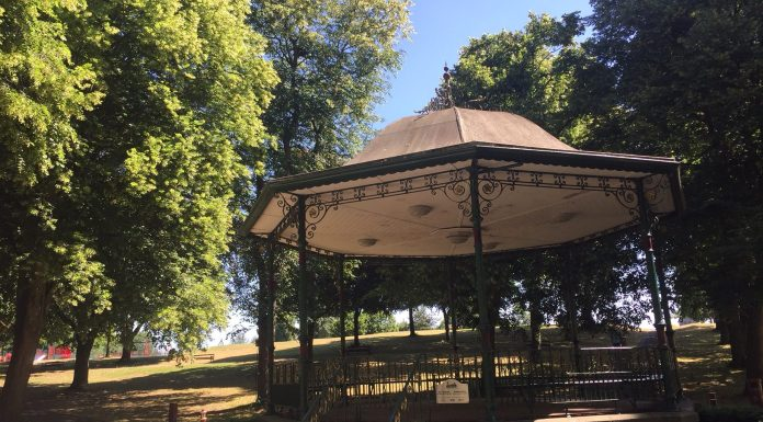 Bellevue Park Walking Bandstand