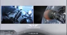 bahrain rocket spacex astronauts tribune
