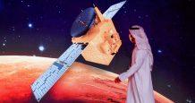 arab spacecraft closes mars historic
